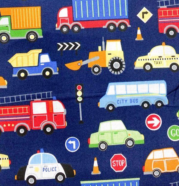 Mund- und Nasenschutz Kinder Fahrzeuge